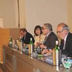 Il tavolo dei relatori